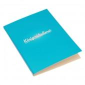 Königreichsdienstmappe blau
