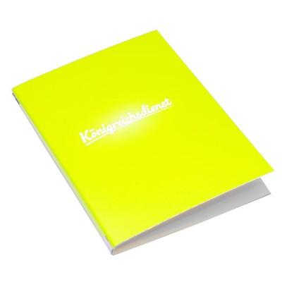Königreichsdienstmappe gelb