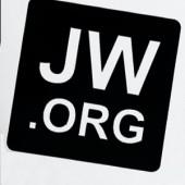 Autoaufkleber JW.ORG schwarz