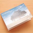 2 x Beileidskarte Baum